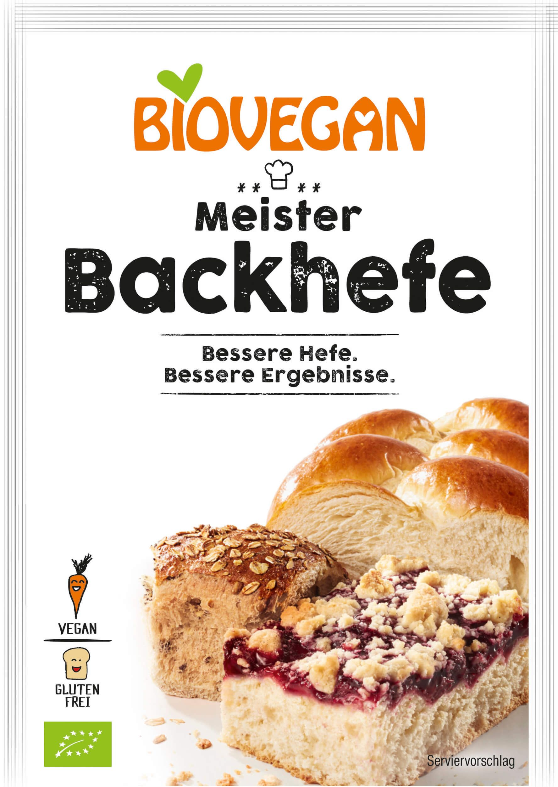 Verpackung Meister Backhefe