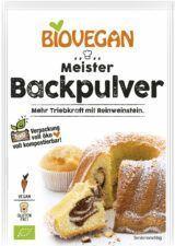 Verpackung Meister Backpulver mit Reinweinstein