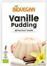 Vanille Pudding Tüte mit Vanilleblüte