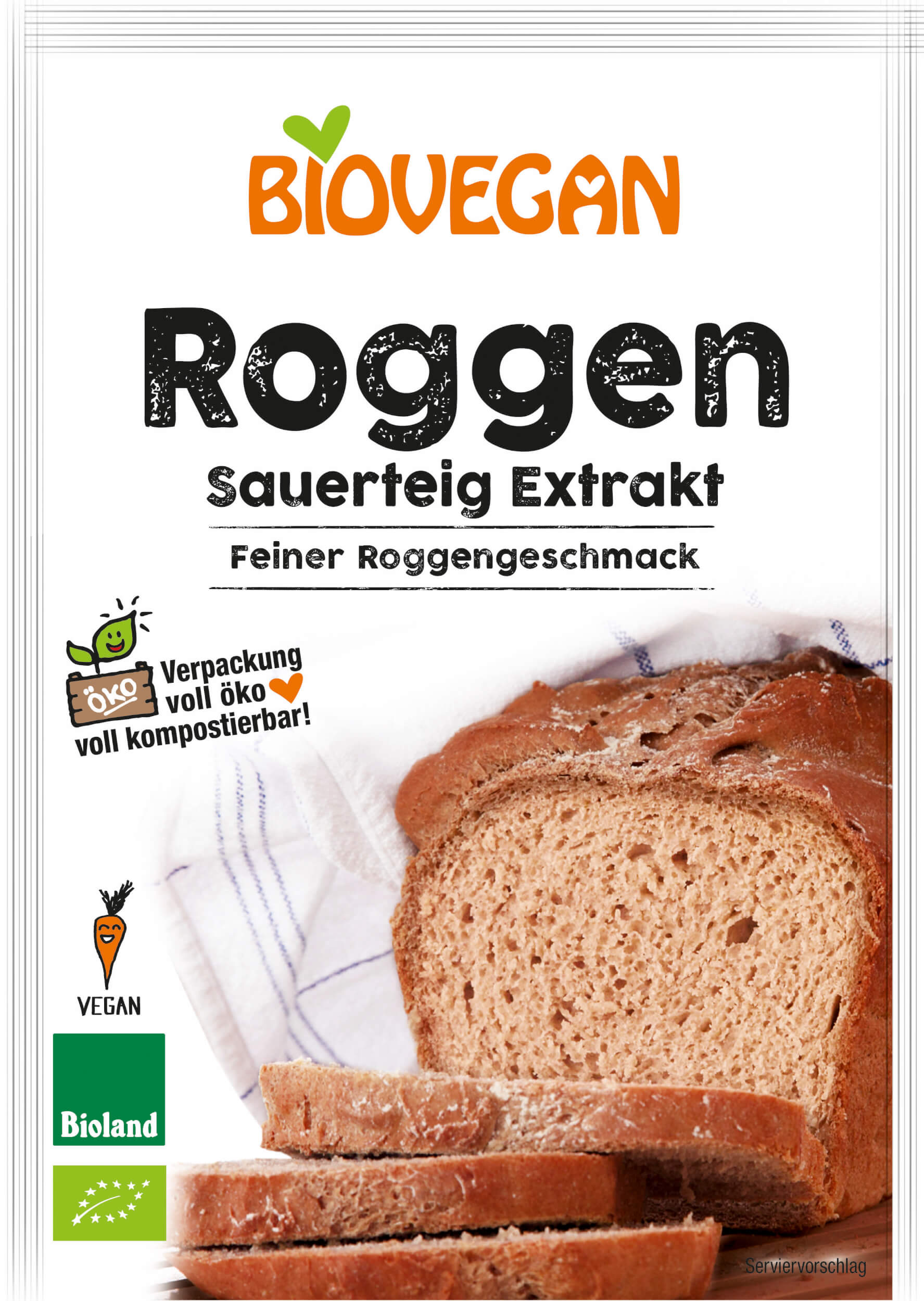 Roggen Sauerteig Extrakt Tüte