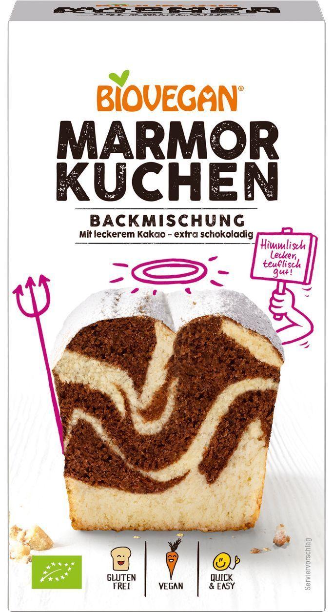 Verpackung Marmorkuchen Backmischung