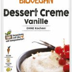 Verpackung Dessert Creme Vanille
