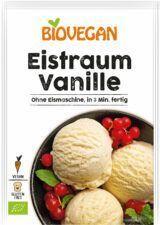 Verpackung Vanille Eis ohne Eismaschine