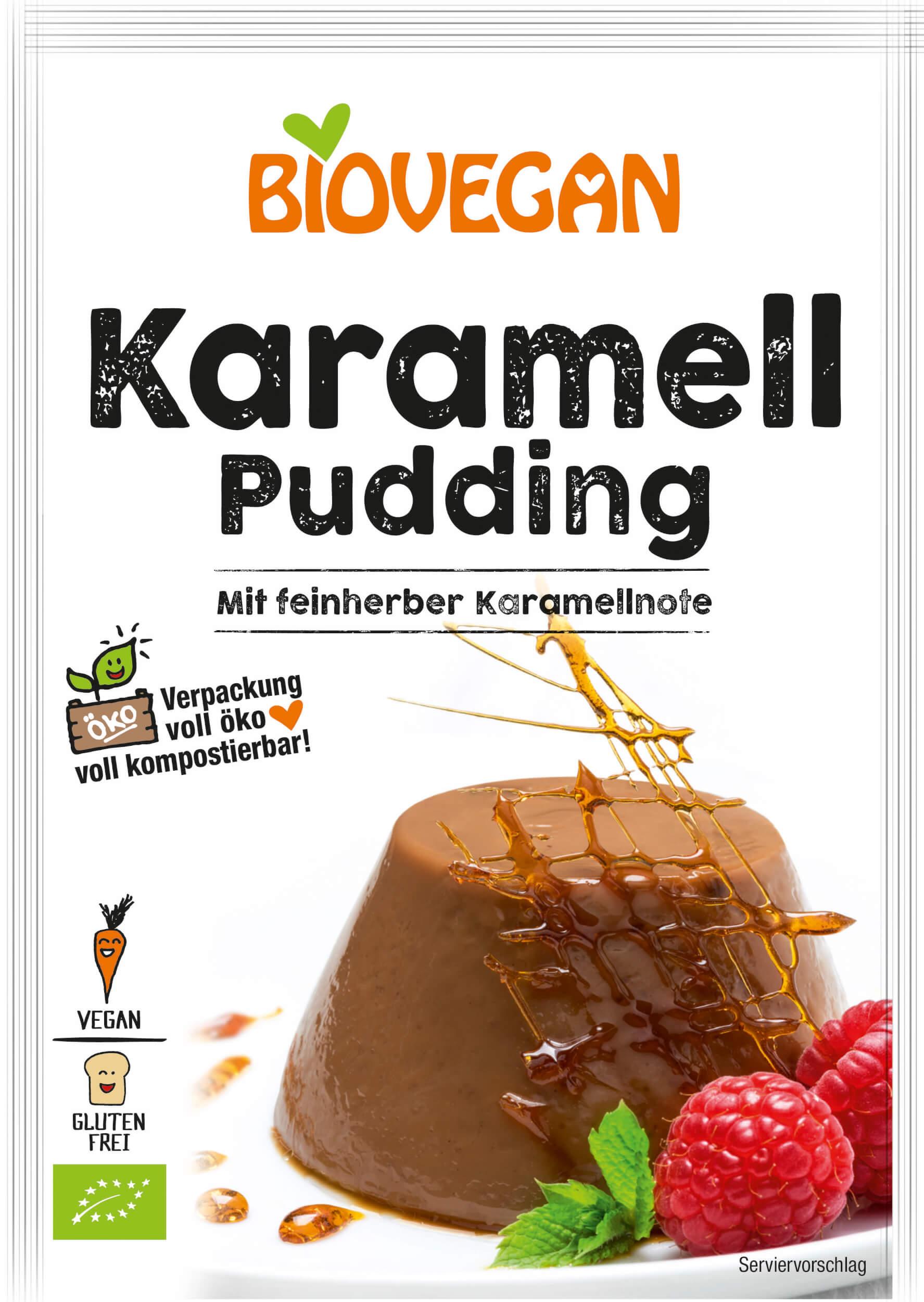 Karamell Pudding Tüte