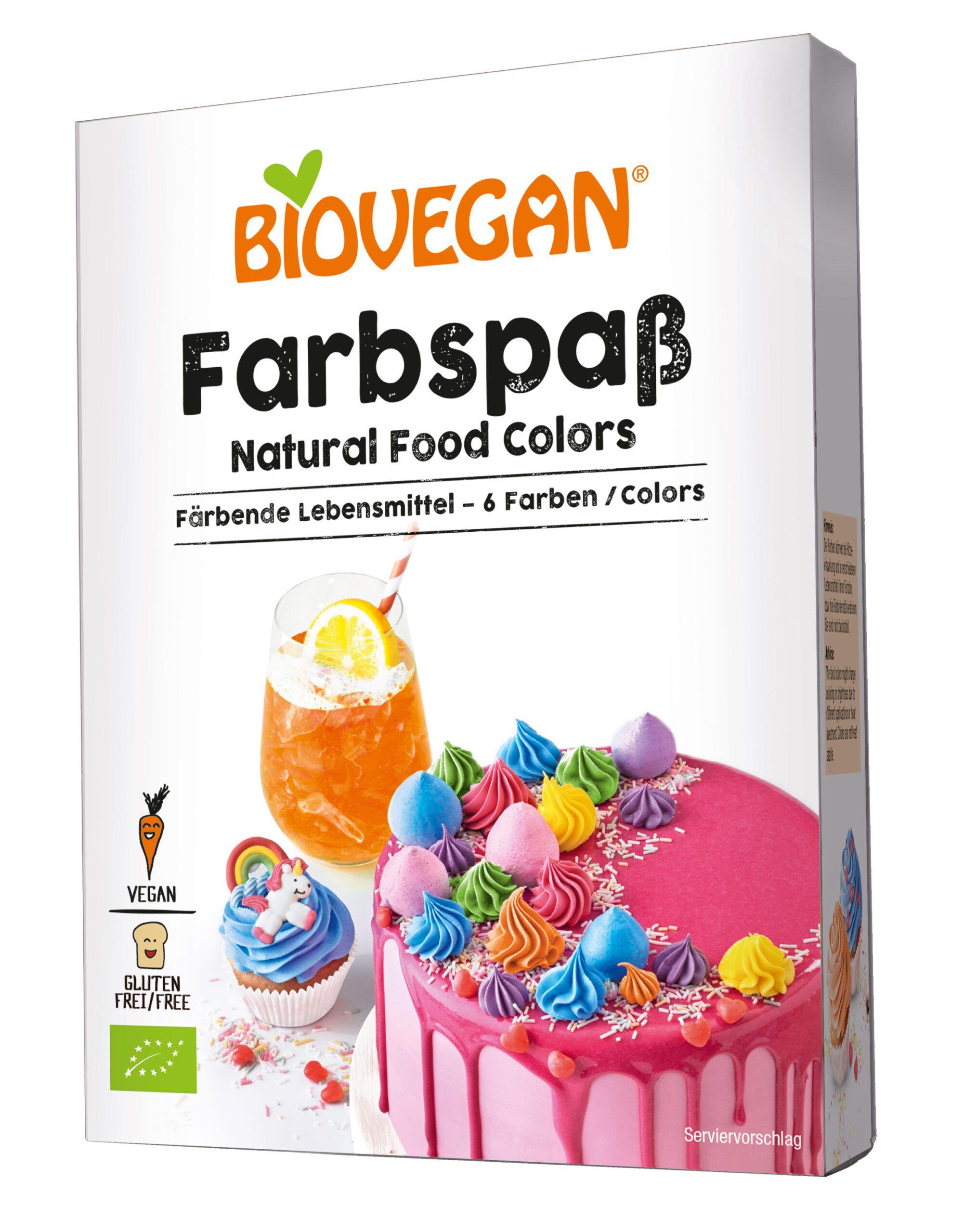Verpackung Farbspaß färbende Lebensmittel