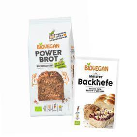 Power Brot und Meister Backhefe Verpackungen